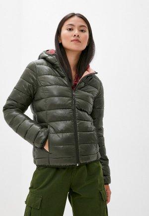 Куртка утепленная Q/S designed by. Цвет: хаки