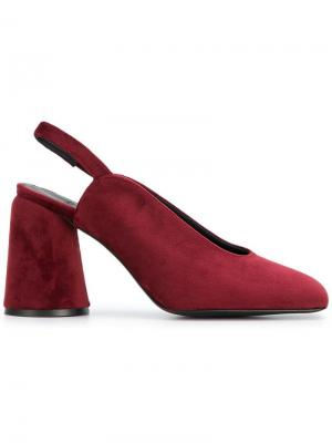 Туфли-лодочки Karme Castañer. Цвет: красный