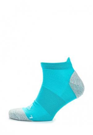 Носки adidas Performance. Цвет: бирюзовый