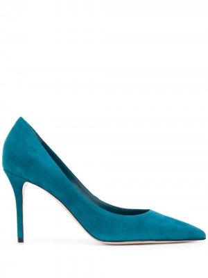 Туфли-лодочки Eva с заостренным носком Le Silla. Цвет: синий