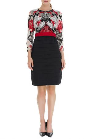 Платье Almatrichi. Цвет: red and black