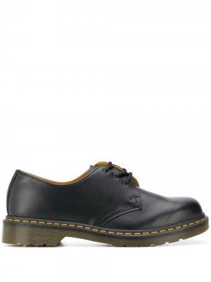 Туфли на утолщенной подошве со шнуровкой Dr. Martens. Цвет: черный