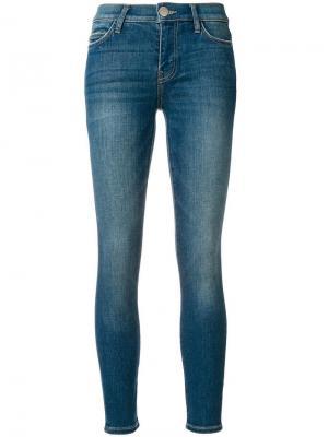Облегающие джинсы Current/Elliott. Цвет: синий