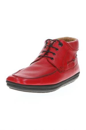 Ботинки Pakerson. Цвет: красный