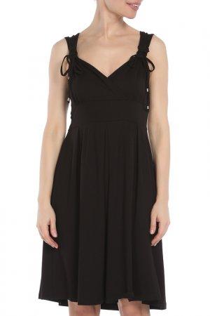 Платье Via Appia. Цвет: черный