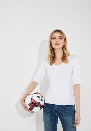 Футболка Emporio Armani. Цвет: белый