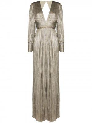 Вечернее платье Smaranda Maria Lucia Hohan. Цвет: серый