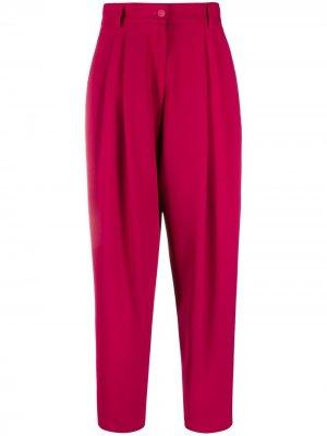 Прямые брюки Dolce & Gabbana. Цвет: розовый