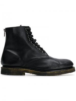 Ботинки на шнуровке Rocco P.. Цвет: черный