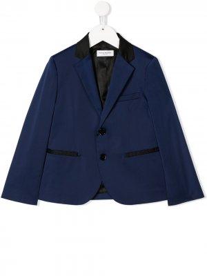 Костюмный пиджак Paolo Pecora Kids. Цвет: синий