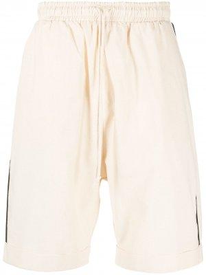 Спортивные брюки с кантом Alchemy. Цвет: нейтральные цвета