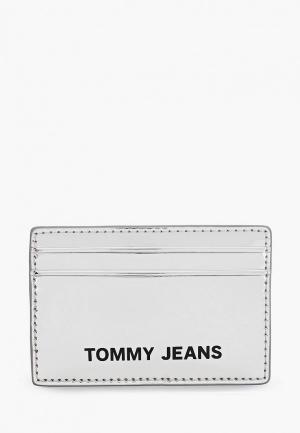 Кредитница Tommy Jeans. Цвет: серебряный
