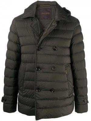 Двубортный пиджак Moorer. Цвет: коричневый