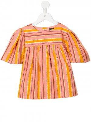 Полосатая футболка Asha Velveteen. Цвет: разноцветный