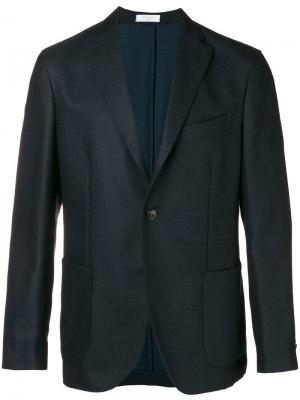 Classic tailored blazer Boglioli. Цвет: черный