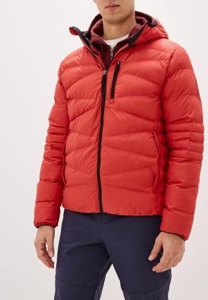 Куртка утепленная Reebok. Цвет: красный