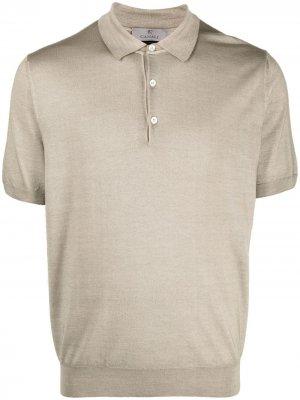Трикотажная рубашка поло Canali. Цвет: нейтральные цвета