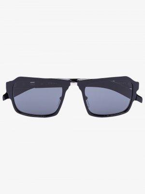 Солнцезащитные очки Duple Prada Eyewear. Цвет: черный
