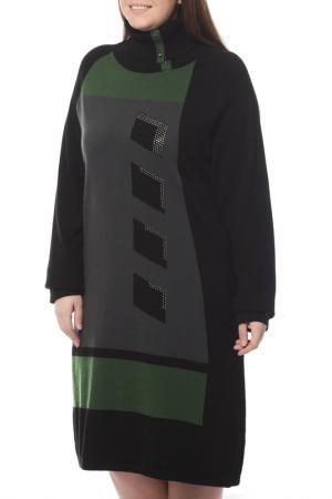 Платье Paola Joy. Цвет: черный