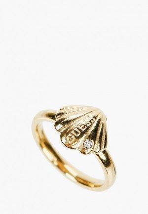 Кольцо Guess. Цвет: золотой