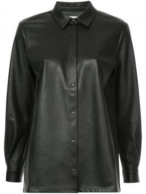 Рубашка Sunniva Mads Nørgaard. Цвет: чёрный