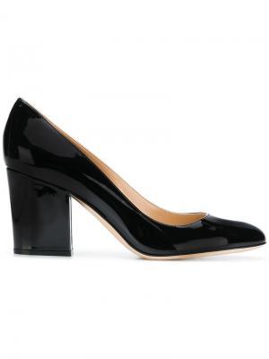 Block heel pumps Sergio Rossi. Цвет: черный