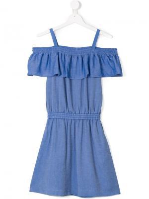 TEEN Alia strap dress Little Remix. Цвет: синий