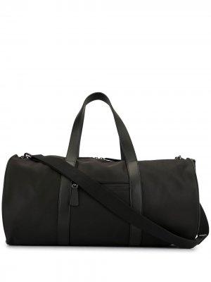 Спортивная сумка с вышивкой Shanghai Tang. Цвет: черный