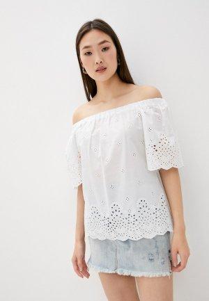 Блуза Blugirl Folies. Цвет: белый