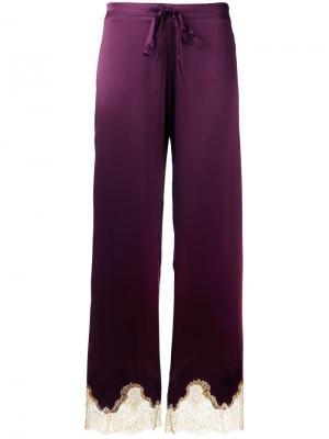 Пижамные брюки Gina Gilda & Pearl. Цвет: красный