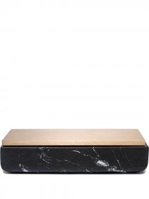 Мраморная коробка для хранения Secret Michael Verheyden. Цвет: черный