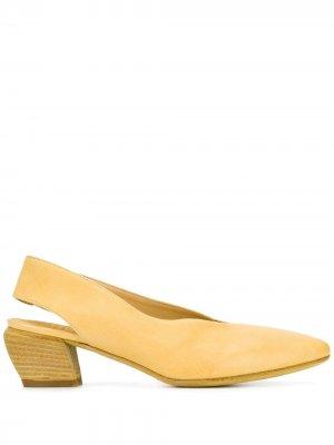 Туфли Sally с ремешком на пятке Officine Creative. Цвет: желтый