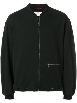Куртка-бомбер свободного кроя Oamc. Цвет: черный
