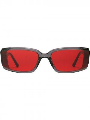 Солнцезащитные очки Deus Gentle Monster. Цвет: красный