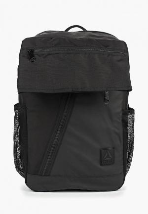 Рюкзак Reebok. Цвет: черный