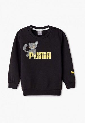Свитшот PUMA. Цвет: черный