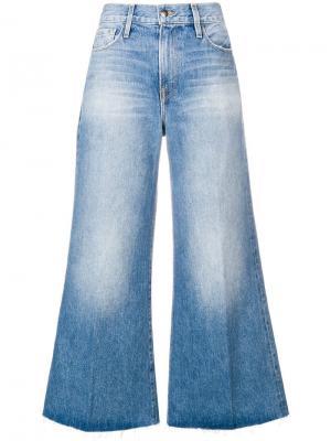 Широкие расклешенные джинсы FRAME. Цвет: синий