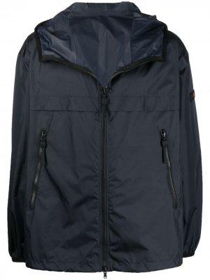 Легкая куртка с капюшоном Peuterey. Цвет: синий