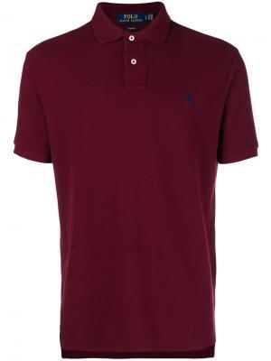 Рубашка-поло с логотипом Polo Ralph Lauren. Цвет: красный