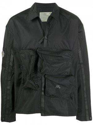 Ветровка с карманами A-COLD-WALL*. Цвет: черный