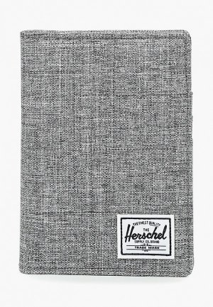 Обложка для документов Herschel Supply Co. Цвет: серый
