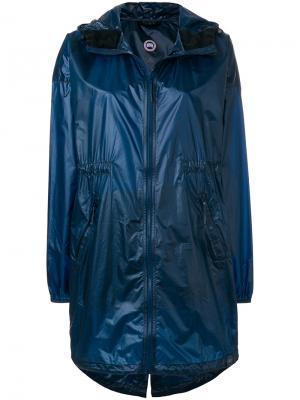 Ветровка Rosewell с капюшоном Canada Goose. Цвет: синий