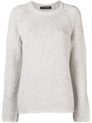 Round neck sweater Iris Von Arnim. Цвет: белый