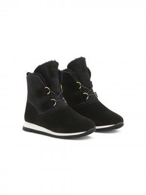 Высокие кроссовки Alissa Giuseppe Junior. Цвет: черный