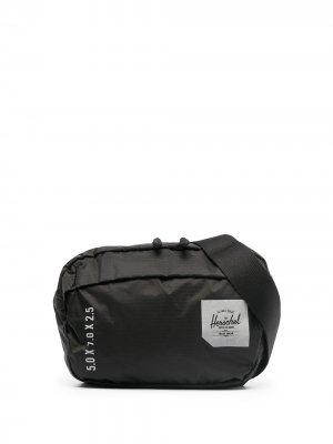 Поясная сумка с нашивкой-логотипом Herschel Supply Co.. Цвет: черный