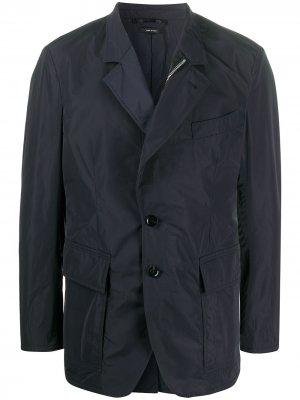 Пиджак на молнии Tom Ford. Цвет: синий