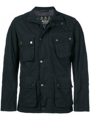 Куртка в утилитарном стиле Barbour. Цвет: синий
