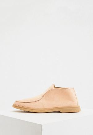 Ботинки Aldo Brue. Цвет: коралловый