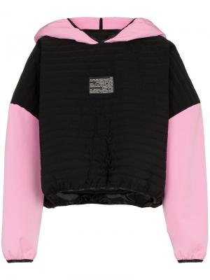 Куртка с капюшоном Colmar A.G.E. By Shayne Oliver. Цвет: черный