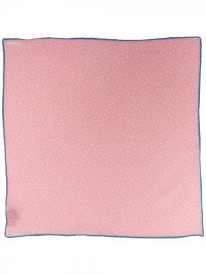 Платок-паше в горох LANVIN. Цвет: розовый